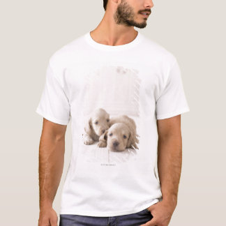 T-shirt Teckel de deux miniatures