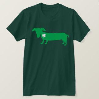 T-shirt Teckel du jour de St Patrick