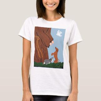 T-shirt Teckel et St Francis