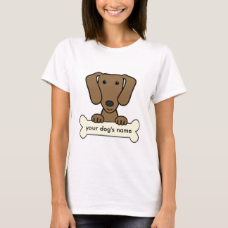 T-shirt Teckel personnalisé