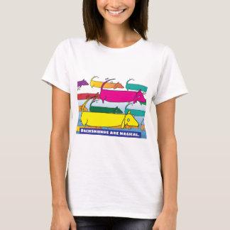 T-shirt Teckels magiques