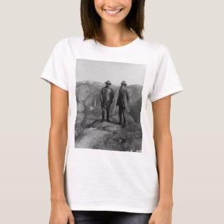 T-shirt Teddy Roosevelt et John Muir dans Yosemite