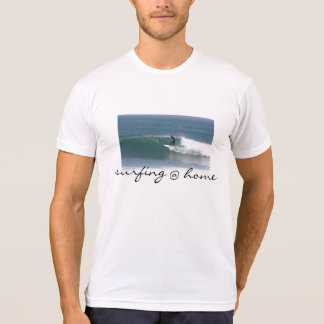 T-shirt @ tee - shirt à la maison surfant frais pour les