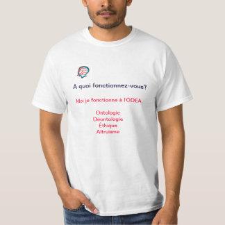 T-shirt Tee Shirt à portée philosophique