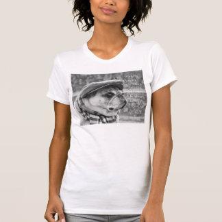 T-shirt Tee - shirt adorable de carlin avec la citation