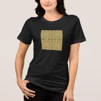 T-shirt Tee - shirt africain de tuile
