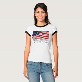 T-shirt Tee - shirt américain parfait pour le 4ème juillet