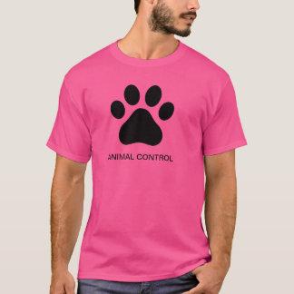T-shirt Tee - shirt animal de contrôle