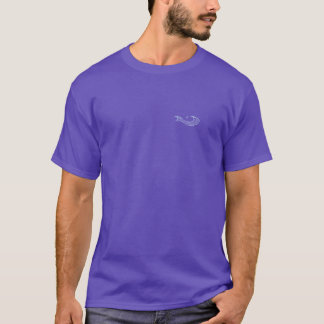 T-shirt Tee - shirt avec le bruissement de la poche WAVMA