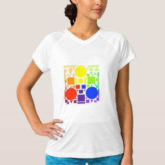 T-shirt Tee - shirt carré de couleur - femmes
