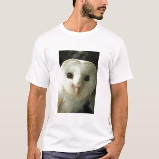 T-shirt Tee - shirt d'adulte de hibou de grange