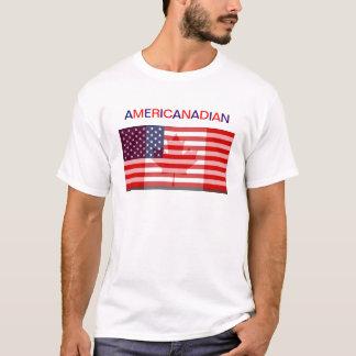 T-shirt Tee - shirt d'AMERICANADIAN