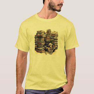 T-shirt Tee - shirt d'archéologue de livre