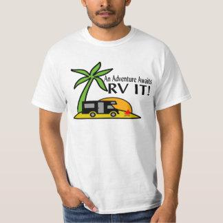 T-shirt Tee - shirt d'aventure de rv