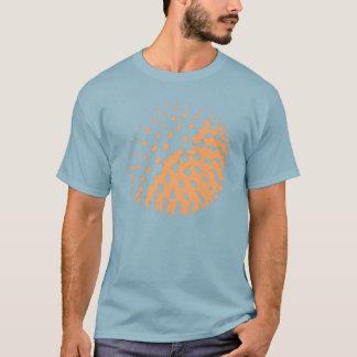 T-shirt tee - shirt de boule de spikey
