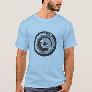 T-shirt tee - shirt de cercle de culture de pi