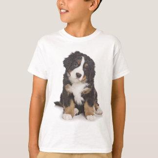 T-shirt Tee - shirt de chiot de chien de montagne de
