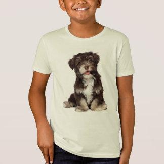 T-Shirt Tee - shirt de chiot de Havanese d'amour