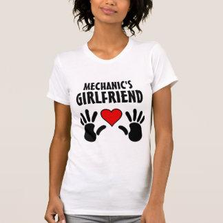 T-shirt Tee - shirt de dames de l'amie du mécanicien