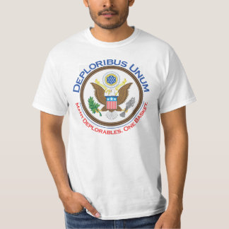 T-shirt Tee - shirt de Deploribus Unum Deplorables