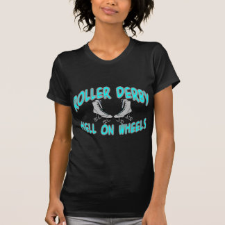 T-shirt Tee - shirt de Derby de rouleau