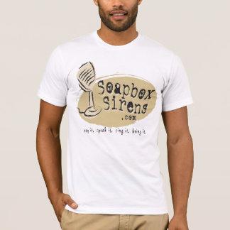 T-shirt Tee - shirt de douille de sirènes de caisse à