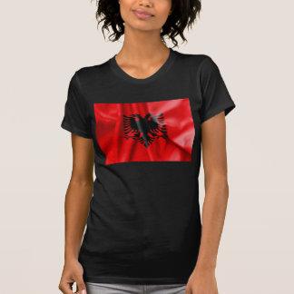 T-shirt Tee - shirt de drapeau de l'Albanie
