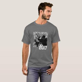 T-shirt Tee - shirt de graphique de la bonne année 2017