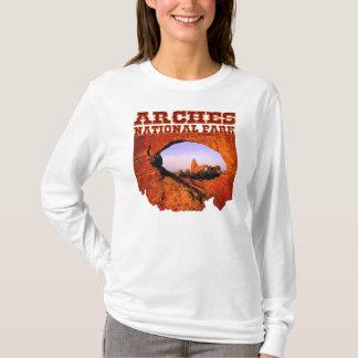 T-shirt Tee - shirt de la douille des femmes de parc