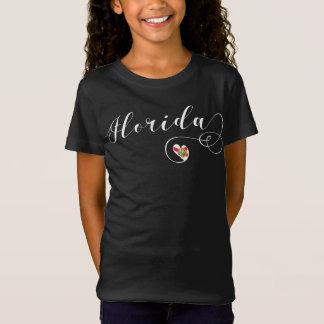 T-Shirt Tee - shirt de la Floride de coeur, de Floride,