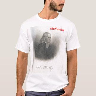 T-shirt Tee - shirt de méthodiste de John Wesley