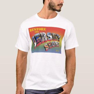 T-shirt Tee - shirt de soulagement d'ouragan de rivage du