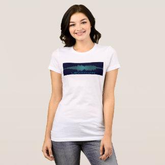 T-shirt Tee - shirt de Soundwave de navire géant (femmes)