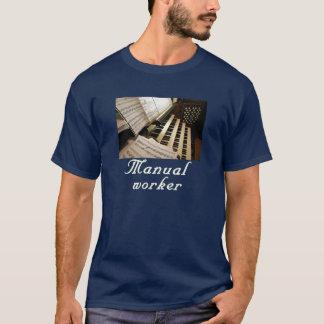 T-shirt Tee - shirt de travailleur manuel