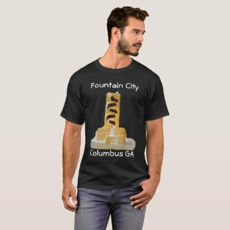 T-shirt Tee - shirt de ville de fontaine