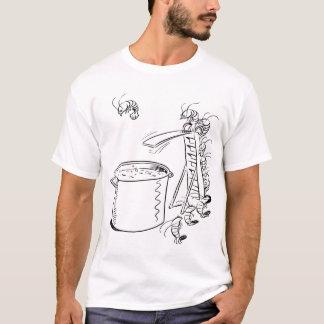 T-shirt Tee - shirt d'ébullition de crevette