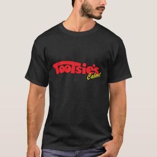T-shirt Tee - shirt d'obscurité de cabaret de pieds