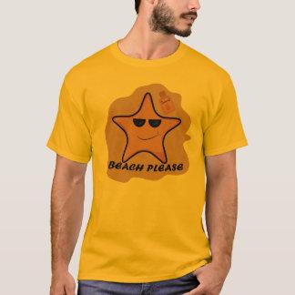 T-shirt tee - shirt drôle d'étoile de mer