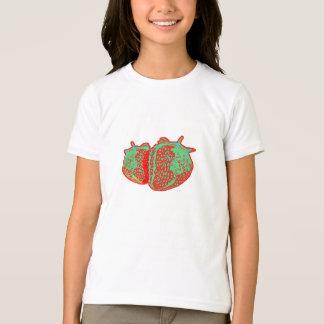 T-shirt Tee-shirt enfant fraise vintage