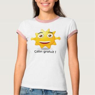 T-shirt Tee shirt femme Câlin gratuit !