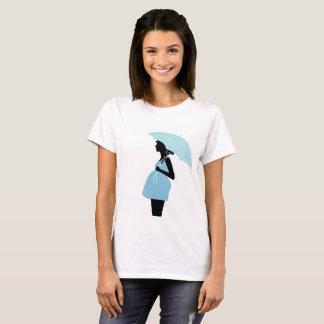 T-shirt Tee shirt femme enceinte au parapluie