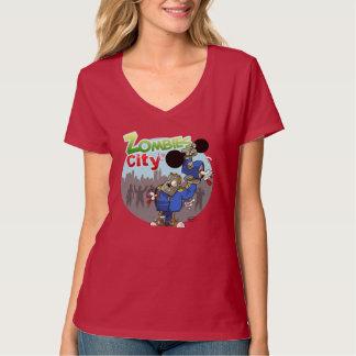 T-shirt Tee shirt femme Zombies City