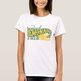 T-shirt Tee - shirt frais de signe de limonade
