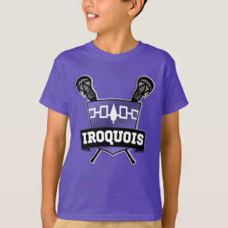 T-shirt Tee - shirt Iroquois de lacrosse de nation