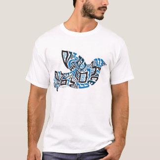 T-shirt Tee - shirt lunatique de graphique de colombe de