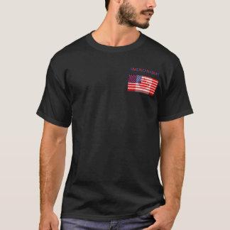 T-shirt Tee - shirt noir d'AMERICANADIAN