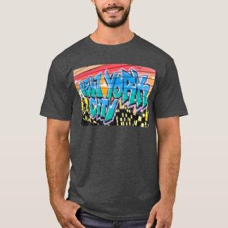 T-shirt tee - shirt ny de hanche de New York City de