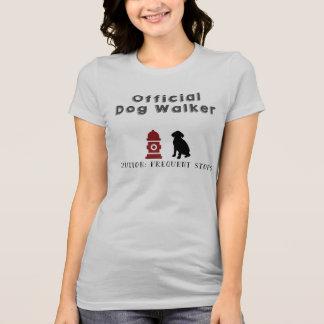 T-shirt Tee - shirt officiel de marcheur de chien