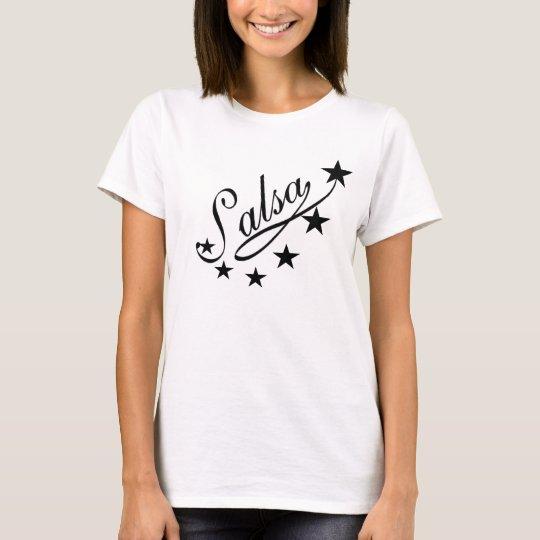 T-shirt Tee-shirt Salsa Star