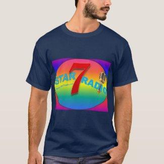 T-shirt tee shirt star7radio